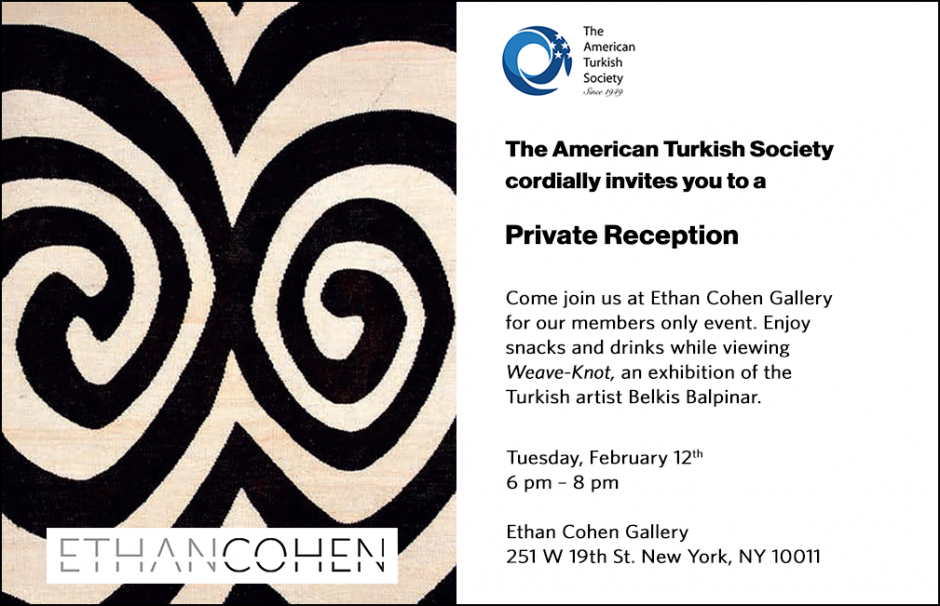 Come join us at Ethan Cohen Gallery for our Members Only event!