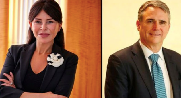Ms. Suzan Sabanci Dincer and Mr. Michael Roberts have been appointed as the new Co-Chairs of The Society!