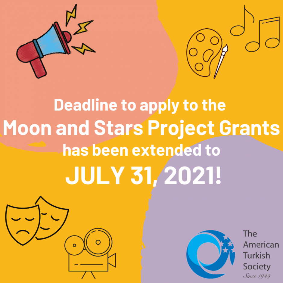 Deadline to apply to Moon and Stars Project Grants has been extended to 7/2021!