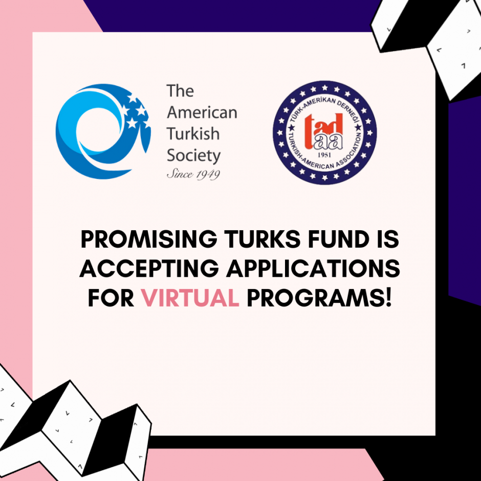 Promising Turks Fund is accepting applications for virtual programs!