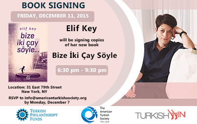 Elif Key Book Signing